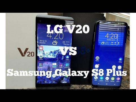 Lg V20 vs Samsung Galaxy S8 Plus - Full Comparison