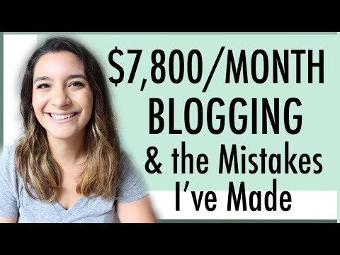 $7,800/MONTH BLOGGING ● THE SPECIAL INCOME & EXPENSES REPORT