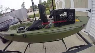 Lifetime Tamarack 10' Fishing Kayak Modifications!