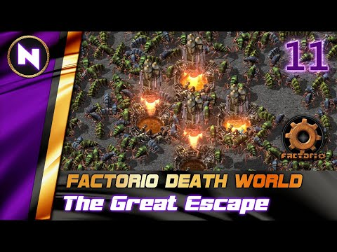Factorio DeathWorld #11 ROBOTS NEED POWER I GUESS | Lets Play