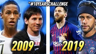 10 TRANSFORMATIONS DE GRANDS JOUEURS ENTRE 2009 & 2019 !! #10YearsChallenge