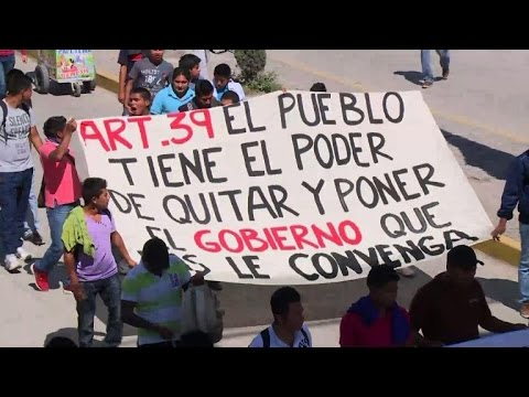 Mexico student deaths the biggest crisis for President Nieto