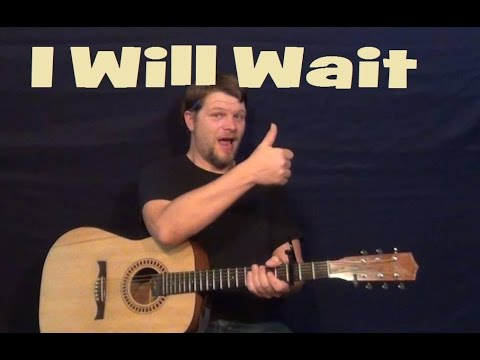 I Will Wait (Mumford and Sons) Guitar Lesson Strum Chord Easy How to ...