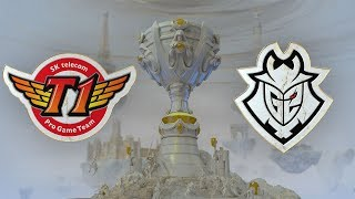 SK Telecom T1 ( SKT ) vs G2 Esports ( G2 ) 3. Maç | Worlds 2019 Yarı Final