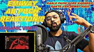 EMIWAY AB PUCH REACTION   6LACK & T-PAIN - ONE WAY INSTRUMENTAL   BROWN BOY REACTS REVIEW