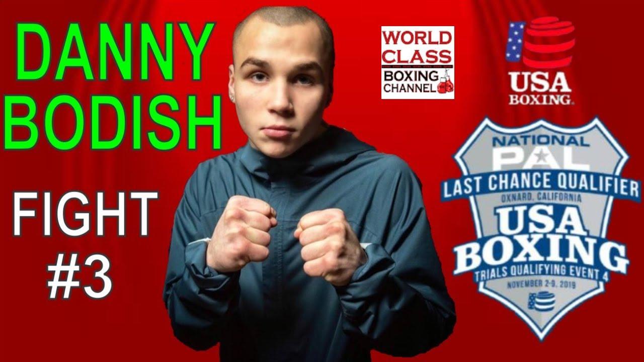 Danny Bodish Fight #3 Last Chance Qualifiers 2019