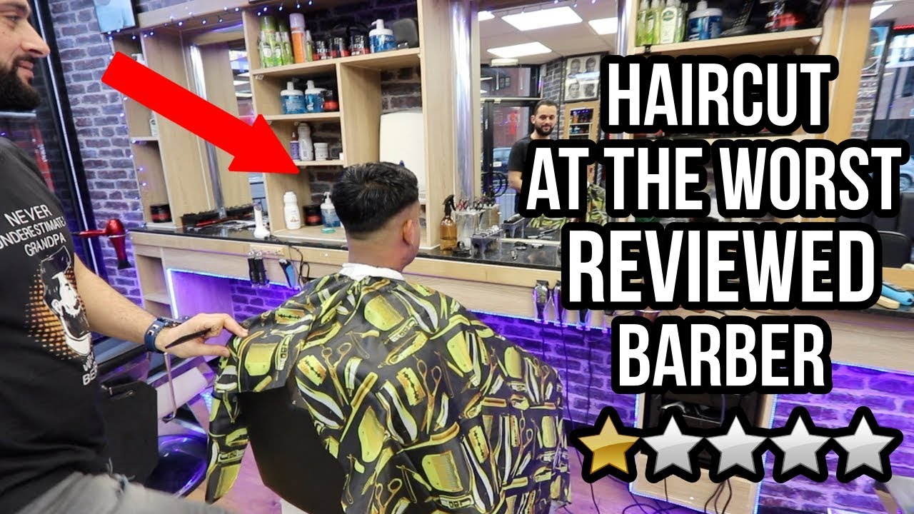 Getting a HAIRCUT At The WORST REVIEWED BARBER In My City (London)