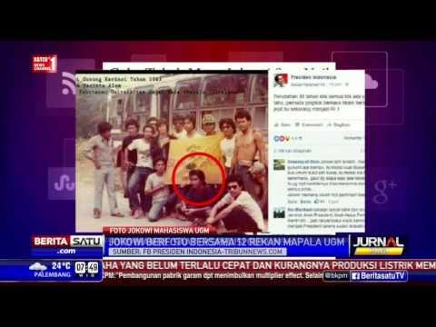 Beredar Foto Presiden Jokowi Muda Di Media Sosial