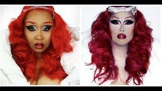 Make Up Look: Jiggly Caliente  ( Dragqueen Fierce )