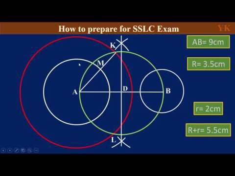 SSLC Maths Target 50   4 Marks TCT Drawing Part 8 Kannada