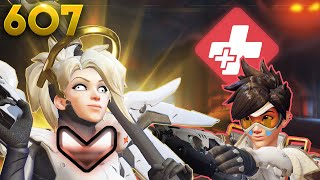 How A Bronze Mercy Looks Like!! | Overwatch Daily Moments Ep.607 (Funny and Random Moments)