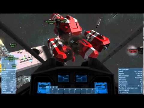 Space Engineers What To Do With Excess Stone Youtube
