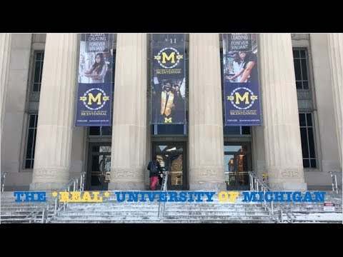 The *real* University Of Michigan Campus Tour!!