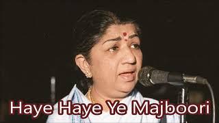 Haye Haye Ye Majboori - Instrumental by Rohtas
