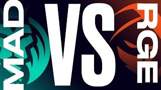MAD vs. RGE - Week 4 Day 2 | LEC Summer Split | MAD Lions vs. Rogue (2021)
