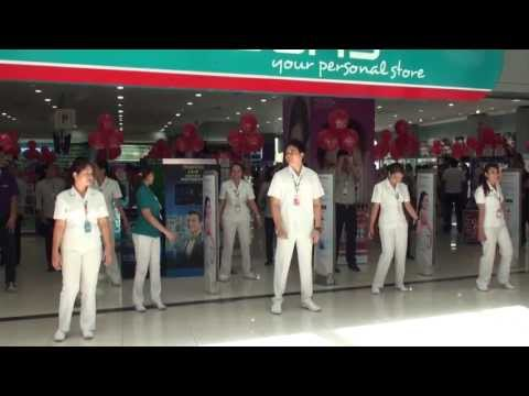 Flash Dance in Watsons, SM Mall of Asia