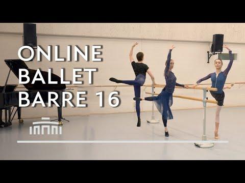 Ballet Barre 16 (Online Ballet Class) - Dutch National Ballet