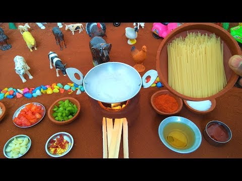 Miniature Spaghetti Recipe | Miniature Cooking | Spaghetti Recipe | Mini Food