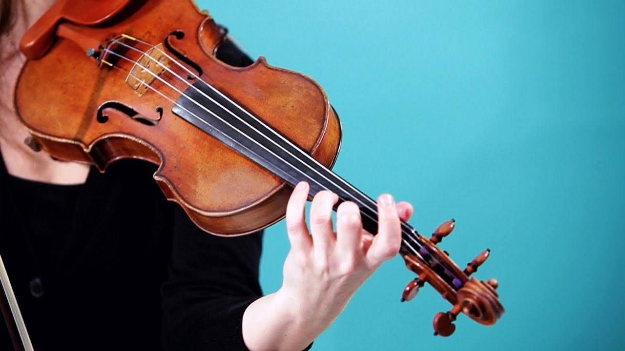 How to Play G, A & B Notes | Violin Lessons - YouTube