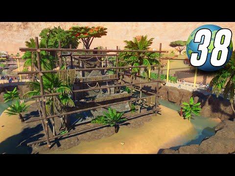 Planet Zoo Franchise - Part 38 - CHIMPANZEE TEMPLE!