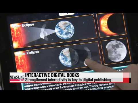 Digital books boast diverse multimedia interactive features   2014 디지털북페어; 다양한 인