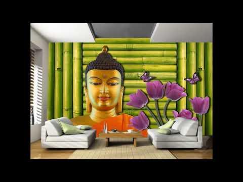Buddha Theme 3D Wall Murals By DNS Studios