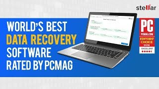 Stellar Phoenix Windows Data Recovery Rated Best Data Recovery Software by PCMAG