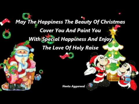 Merry Christmas Greetings,Sms,Quotes,Blessings, E Card,Whatsapp Video    YouTube
