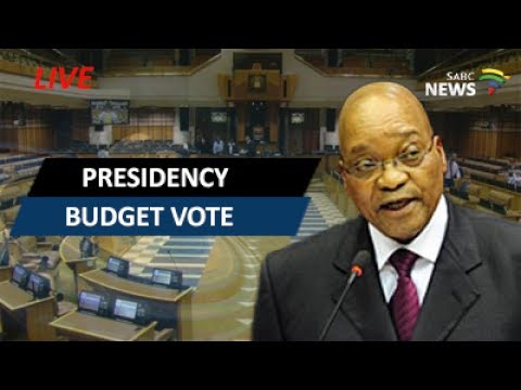 President Zuma responds to presidency budget questions