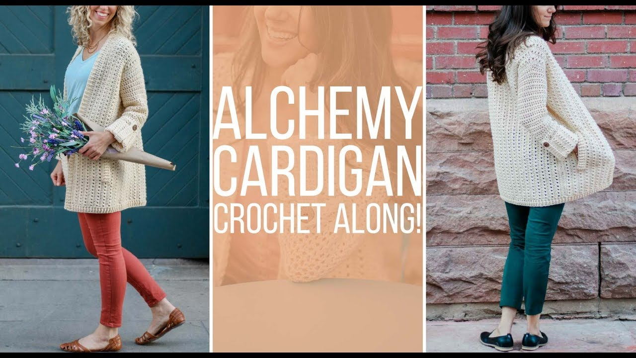 add9913dda76 Join The Alchemy Cardigan Crochet Along with Make   Do Crew and Love Crochet