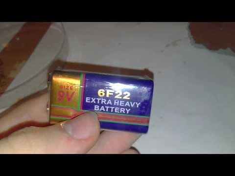 Extra Heavy Battery 6F22 9V