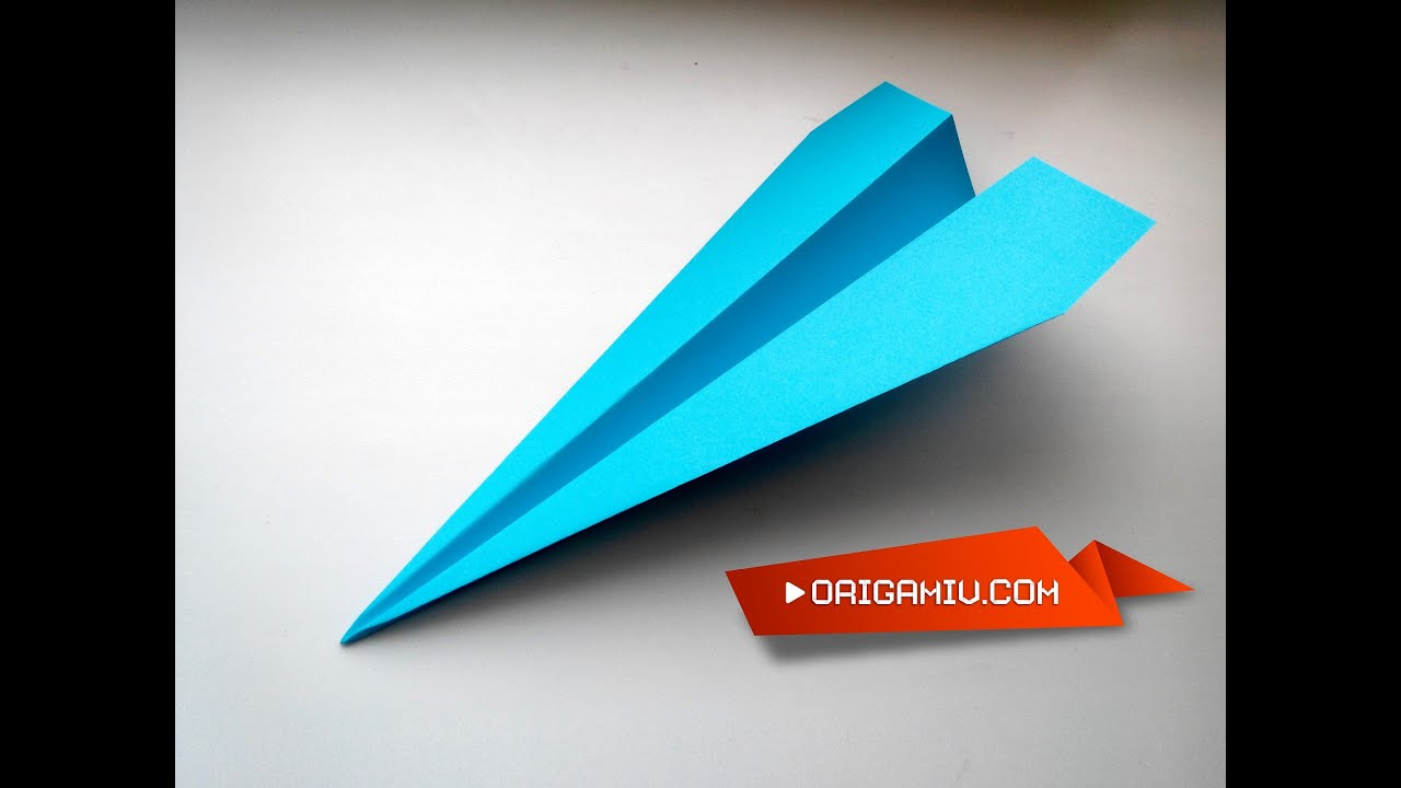 Rocket Out Of Paper Flying Model Origami
