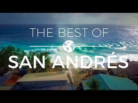 Colombia - The Best of San Andrés | Drone Videography 4k