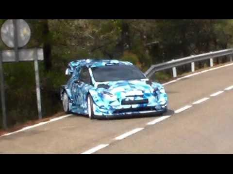 Test Ford Fiesta WRC 2017 | Ott Tanak | Spain