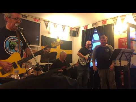 Simon James & DNR Live At Railway Pub Charity Gig - Mott - All The Young Dudes