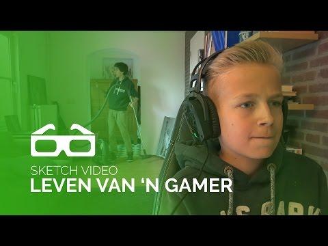 Het Leven Van Een Gamer! (ft. TIES)