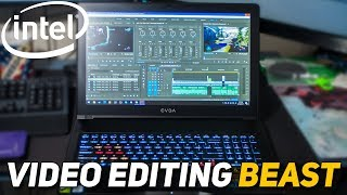 The PERFECT Mobile Production Workstation?! - EVGA SC15 Laptop Editing Performance