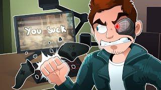 Call of Duty: Black Ops 4 - Terroriser BROKE HIS CONTROLLER! (COD BO4)