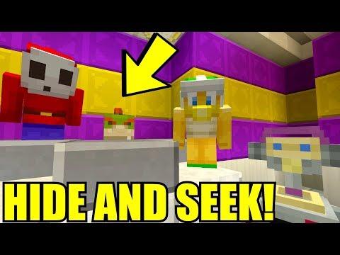 WHERE IS BOWSER JR?!? | Nintendo High School | Minecraft Switch [48]