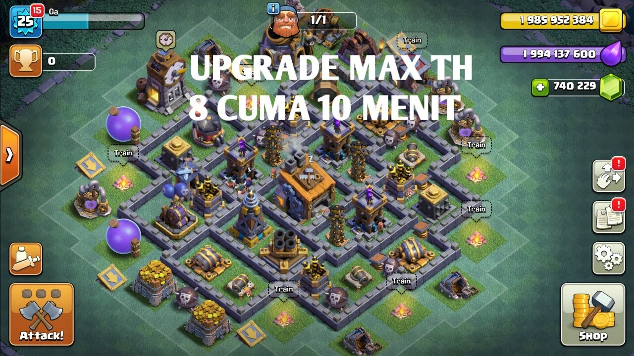 Base Coc Desa Malam Th 8 1