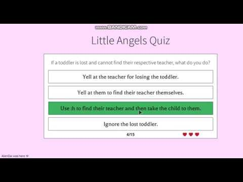 Little Angels Daycare Application for Secretary 2018 - YouTube