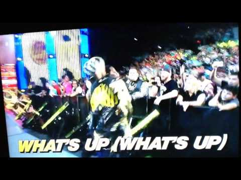 Golden Truth Entrance with karaoke (Very Funny) Smackdown 6/2/16