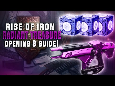 Destiny  HOW TO GET AND USE RADIANT TREASURE! WHAT'S IN THEM?