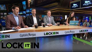 The Lock It In crew place their bets for the CBK tournament live from Las Vegas | LOCK IT IN