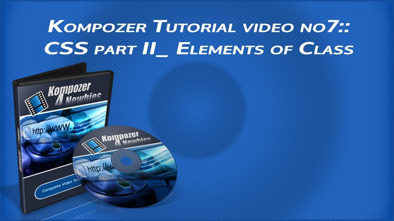 Kompozer borders tutorial   mbrsolution.