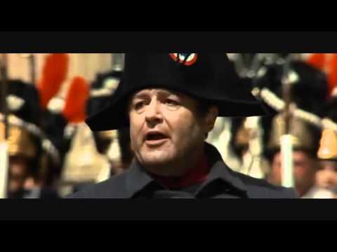 Waterloo (1970) - Napoleon leaving France