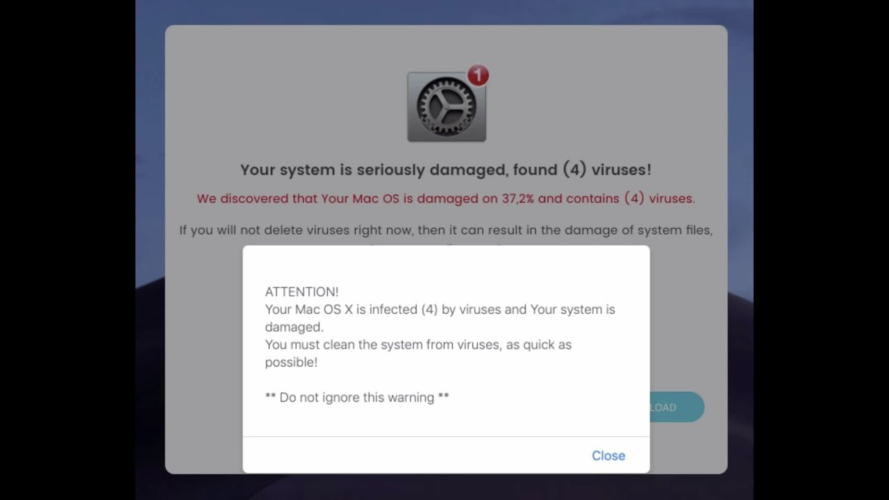 How to get rid of Your System Is Seriously Damaged, Found (4