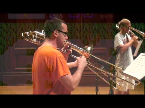 Video Games Medley, arr. Kosberg, Illinois Trombone Consortium, 7/15/14