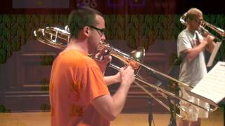 Video Games Medley, arr. Kosberg, Illinois Trombone Consortium, 7/15/14