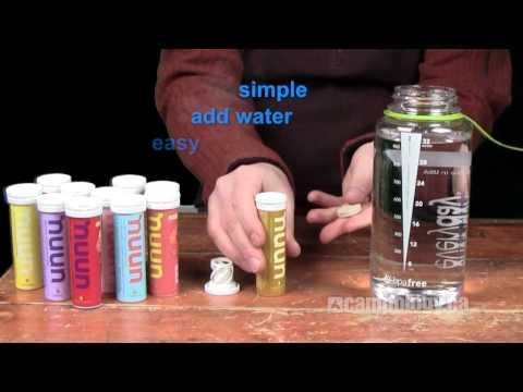 nuun the Electrolyte Enhanced Drink Tabs